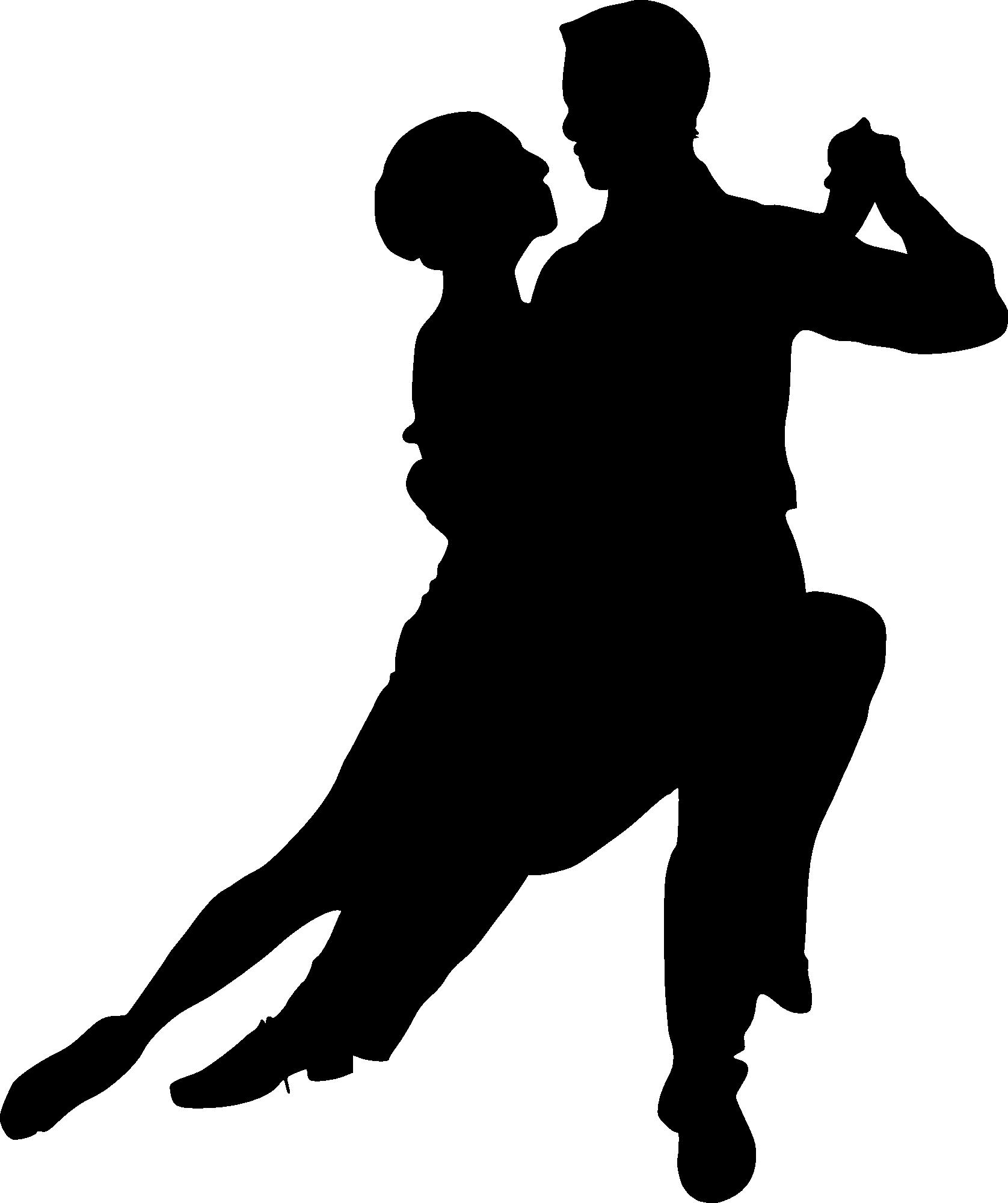 Dancer Silhouette Transparent Background