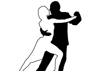 310x233 Dancing Couples Silhouettes Free Vectors Ui Download