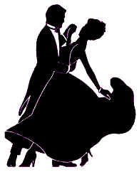 195x242 Dancing. Printables Couples Dance Silhouette