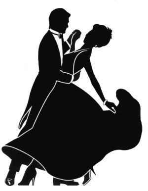 300x386 Dancing Couple Silhouette Did The Ballroom Influence Backfire