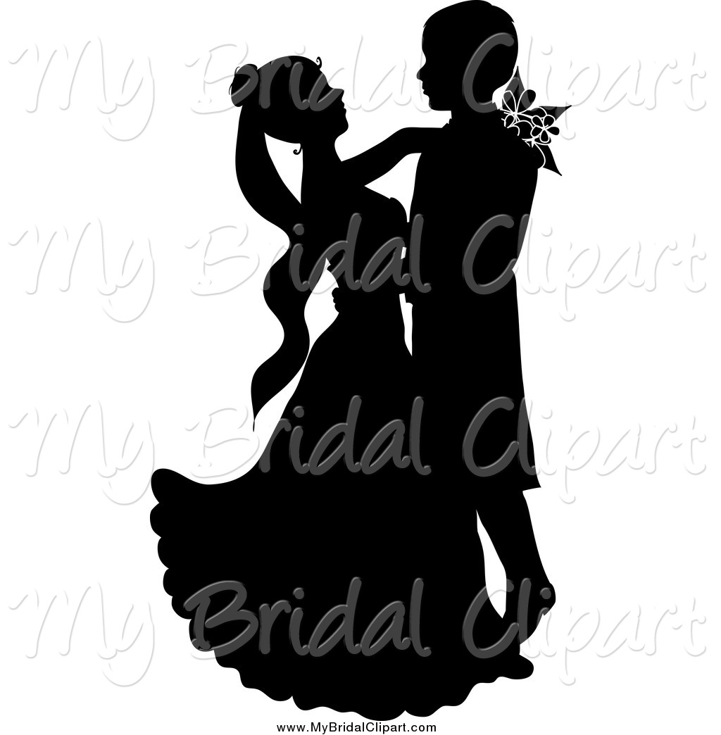 1024x1044 Bridal Clipart Of A Black Silhouetted Wedding Couple Gazing
