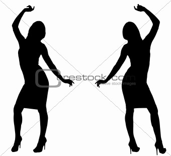 340x310 Image 4217694 Dancing Silhouettes From Crestock Stock Photos