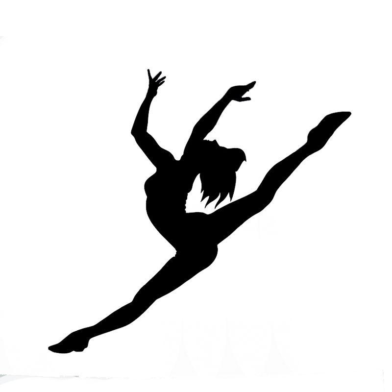 800x800 Wholesale 10pcslot 20pcslot Ballet Dancer Vinyl Car Decal