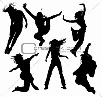 340x323 Image 3516650 Dancing People Silhouettes From Crestock Stock Photos