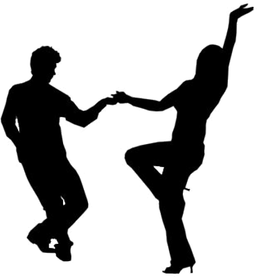 371x400 People Dancing Silhouette Icon