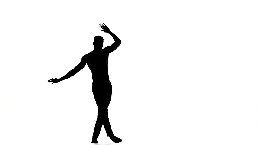 Dancing Silhouette Animation