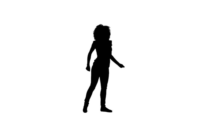 852x480 Woman Silhouette Free Video Clips