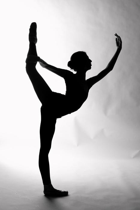 467x700 Ballet Silhouette Balletpointe Animation