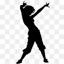 260x261 Dancing Silhouette Png Images Vectors And Psd Files Free