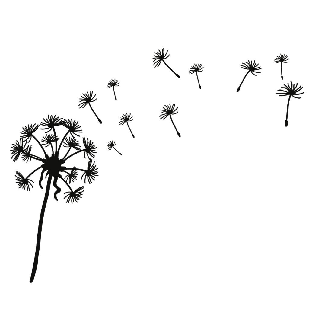 dandelion silhouette clip art at getdrawings com free for personal rh getdrawings com dandelion clip art black & white dandelion clipart black and white