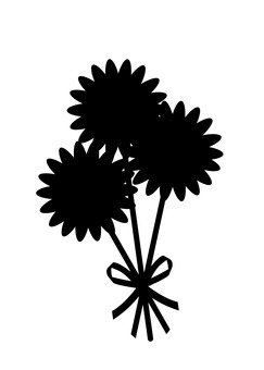 243x340 Free Cliparts Silhouette, Balloon, Husband