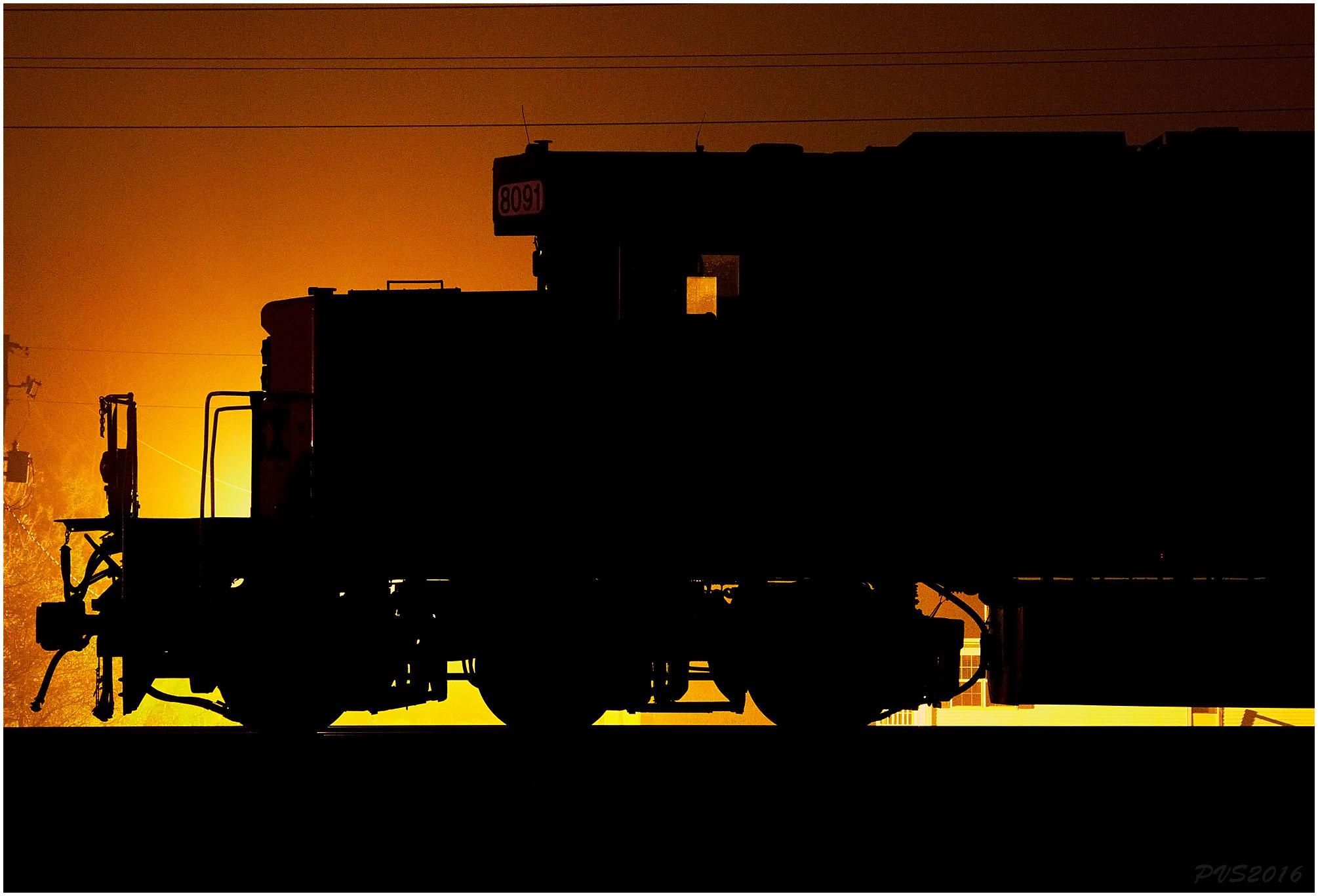 2010x1367 Wallpaper Dark, Silhouette, Train, Skyline, Backlighting