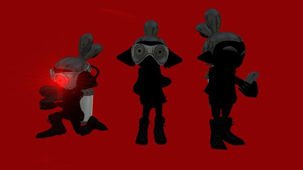 1024x576 Dark Squid's Henchmen Silhouette Version By Robert Greystache