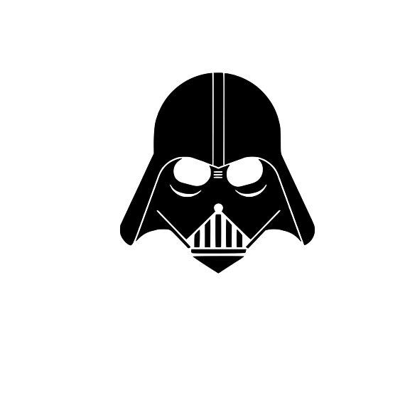 570x570 Darth Vader Cut File Darth Vader Svg File Darth Vader Cutting