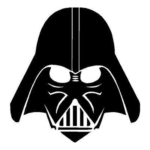 500x500 Star Wars Darth Vader Die Cut Vinyl Decal Pv380