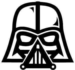 300x281 Star Wars Darth Vader Vinyl Decal Sticker Car Truck Bumper Window