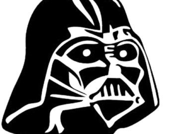 340x270 Star Wars Svg, Darth Vader, Darth Vader, Svg Clip Art, Eps, Dxf