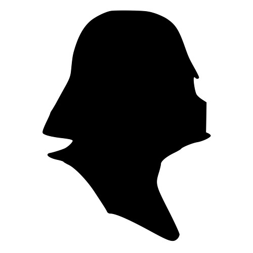 500x500 Darth Vader Mask Star Wars Die Cut Decal Car Window Wall Bumper