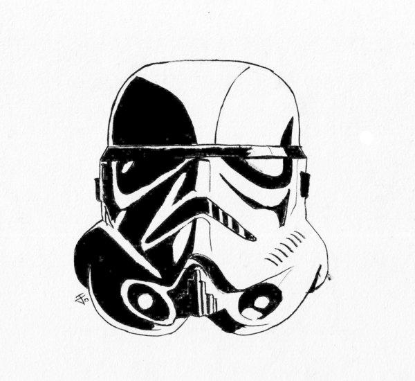 600x550 Darth Vader Clipart Stormtrooper Helmet