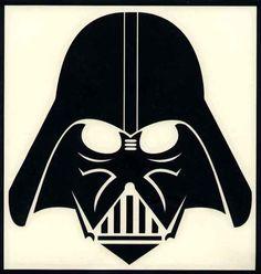 236x248 Darth Vader Head 2 Layers.svg