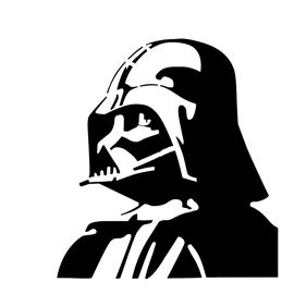 270x270 Darth Vader Stencil Geek Head Collection Shirts Cups Gifts
