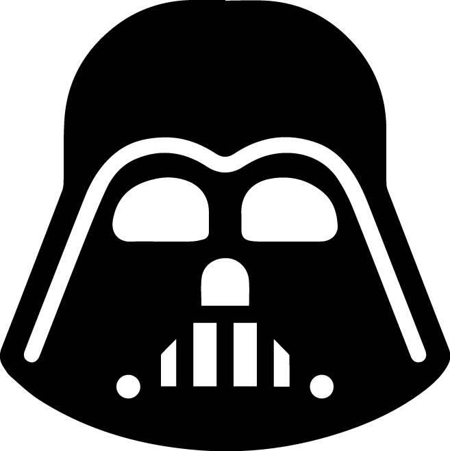 657x659 Darth Vader Svg