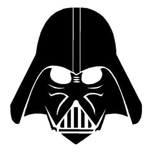 500x500 Star Wars Darth Vader Die Cut Vinyl Decal Pv380