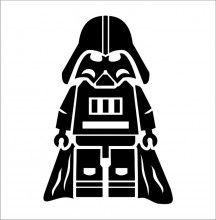 Darth Vader Silhouette Vector
