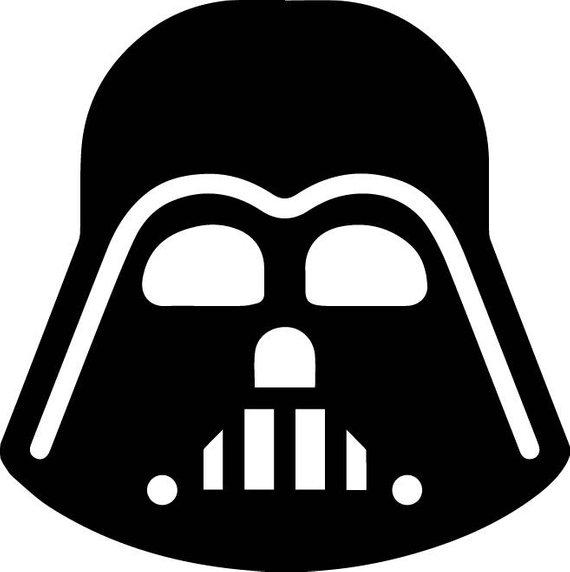 570x572 Darth Vader Svg Darth Vader Vector Darth Vader Silhouette