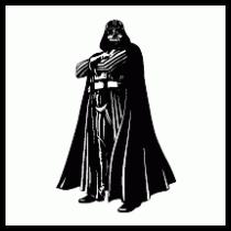 210x210 Darth Vader Cartoon Vector