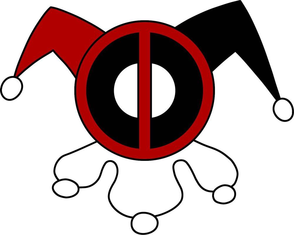 1000x799 Deadpool Harley Quinn Logo By Cptkyron On Deadpool