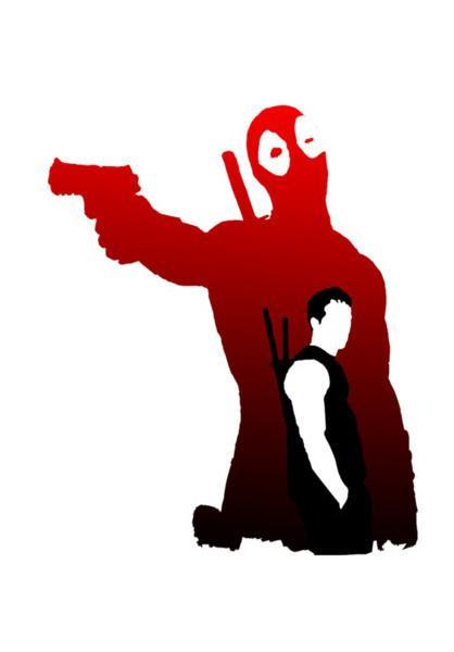 418x600 Deadpool 2 Wall Art Artist Linearman Postergully