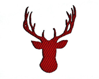 340x270 Deer Head Silhouette Svg File From Misstatestreasures On Etsy Studio