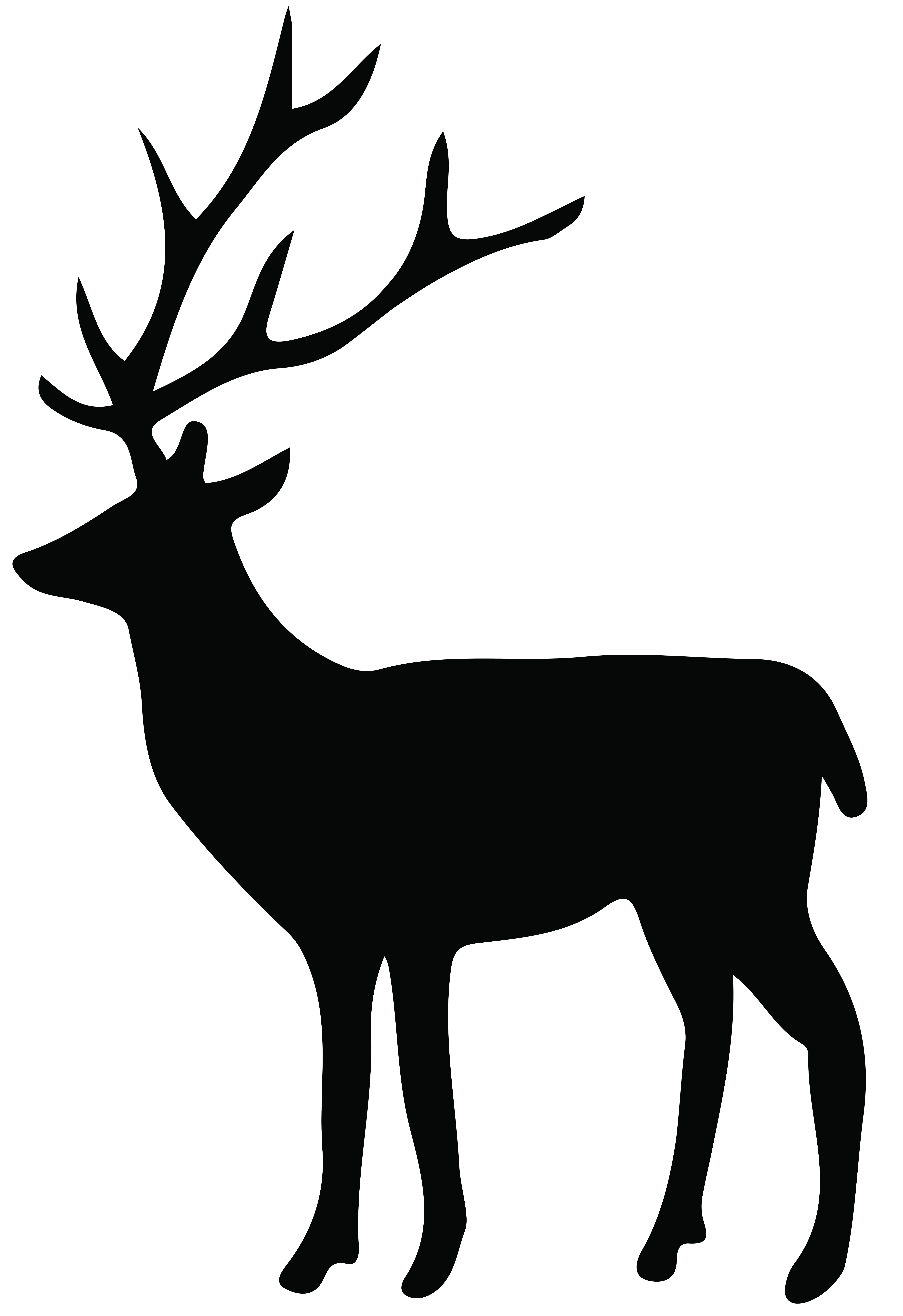 5487x8000 Deer Spring Cliparts