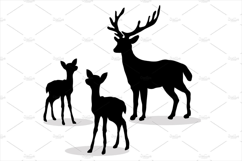 1360x906 Deer Silhouette Designs Design Trends