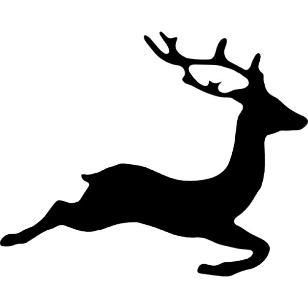 626x626 Deer Shape Icons Free Download