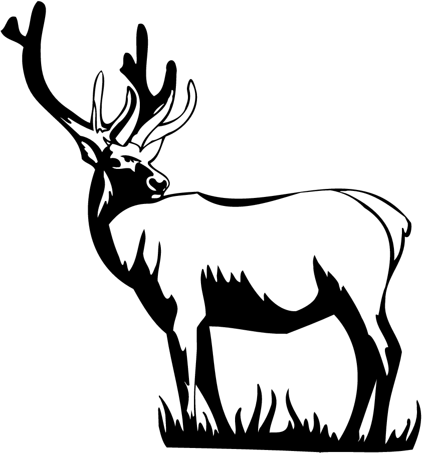 842x904 Free Silhouette Of Deer, Hanslodge Clip Art Collection