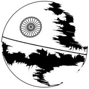 300x300 How To Draw Death Star Star Wars Death Star And Star