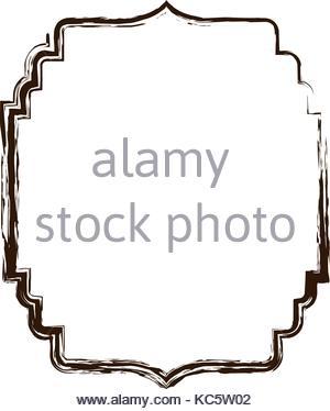 300x374 Heraldic Monochrome Silhouette Decorative Frame And Blurred Stock