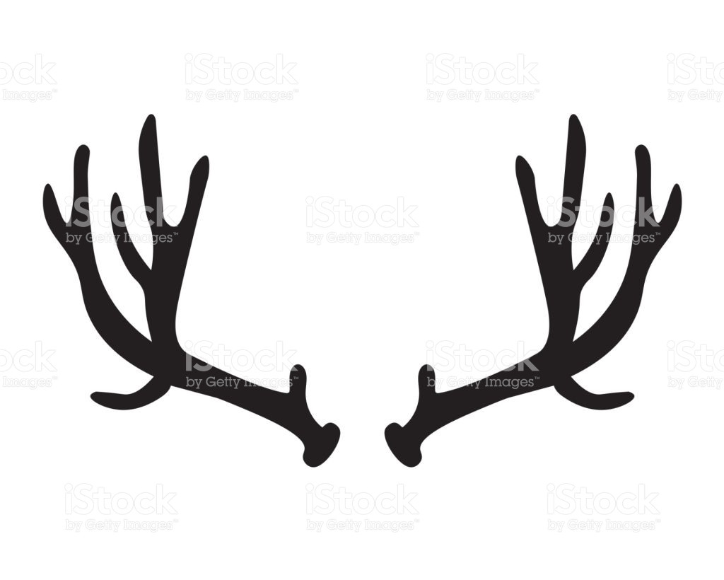 deer antler silhouette at getdrawings com free for personal use rh getdrawings com deer antler clip art deer antler silhouette clip art