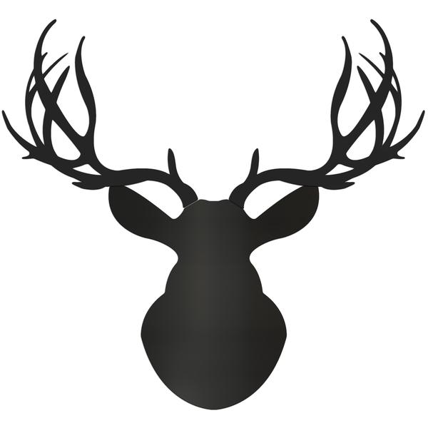 Deer Buck Silhouette