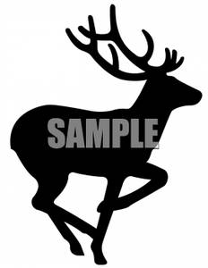 232x300 Cristian Buck Silhouette Clipart Black And White Collection