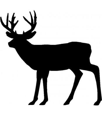 350x400 Deer Doe And Buck Family 1