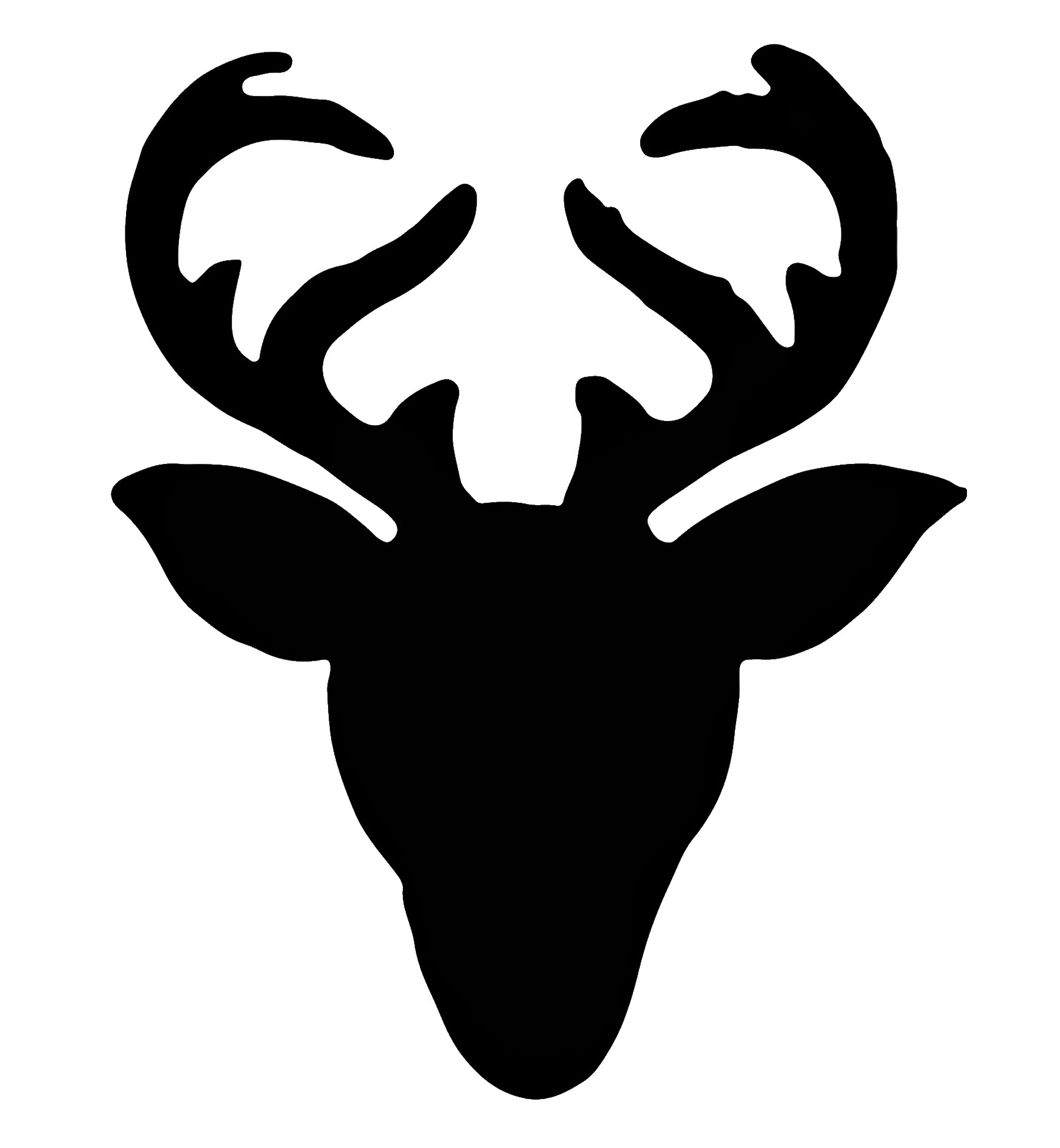 1800x1950 Deer Silhouette Stencil Thatswhatsup