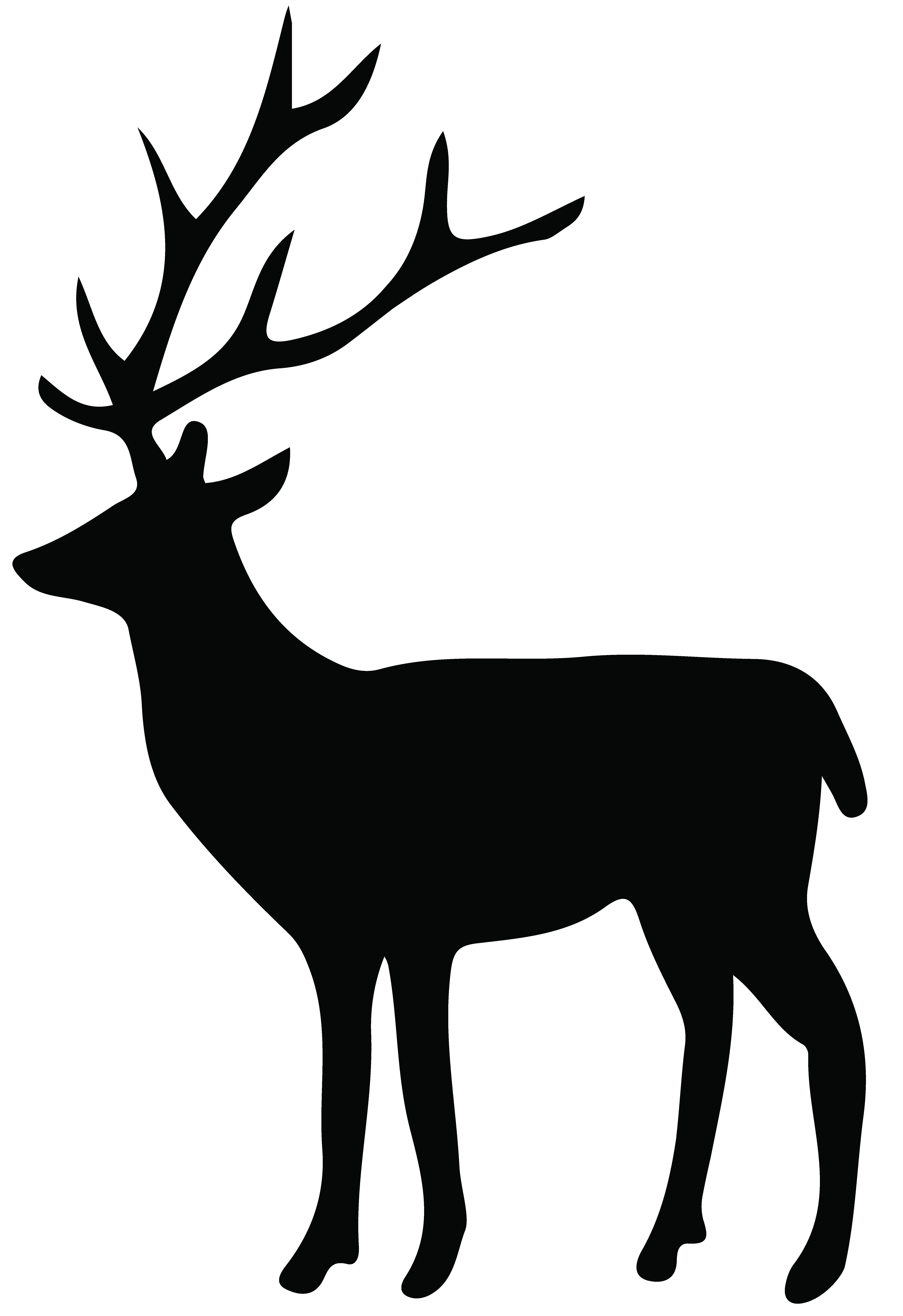 5487x8000 Deer Head Silhouette Png Fiscalreform