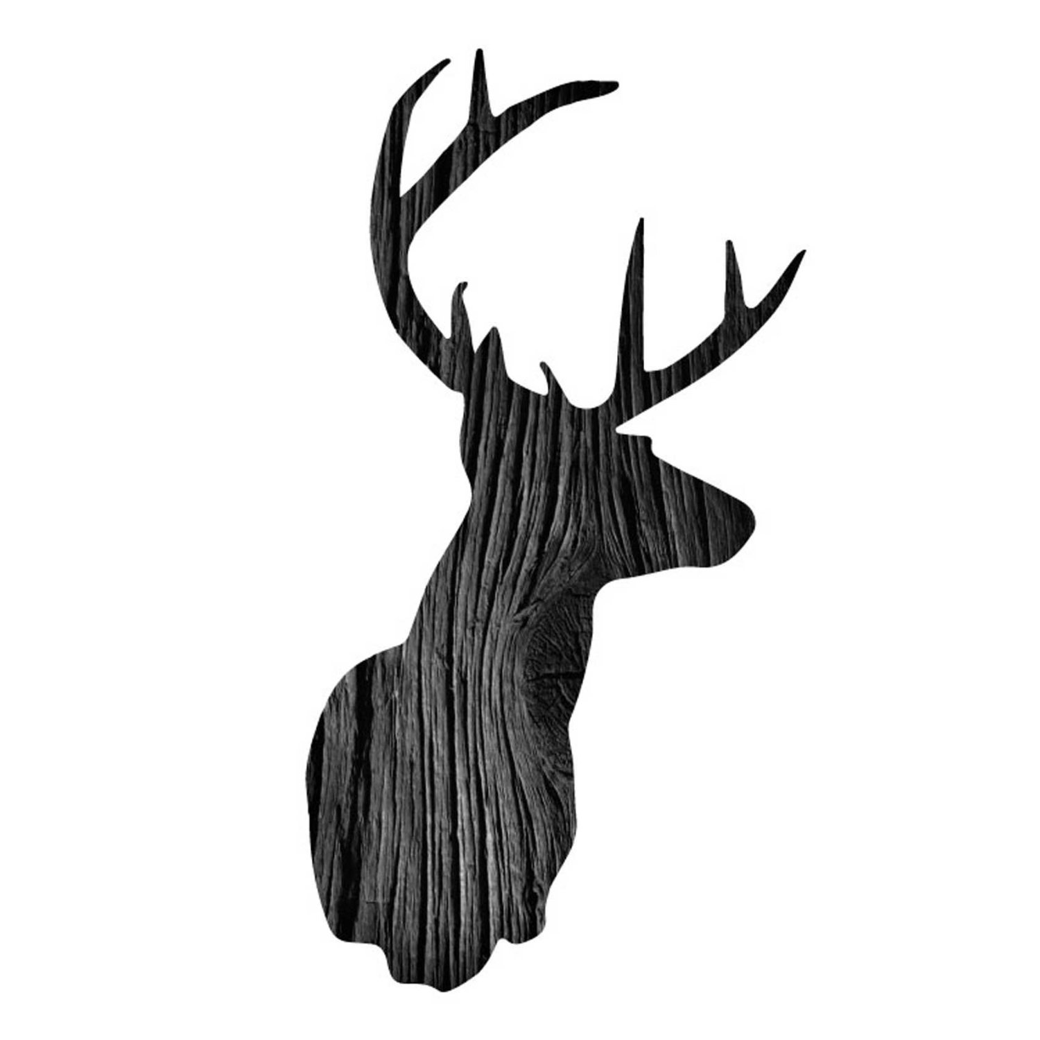 1500x1500 Deer Head Template Printable Svg's For Make The Cut Clipart