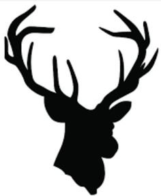 236x286 Deer Head Silhouettes
