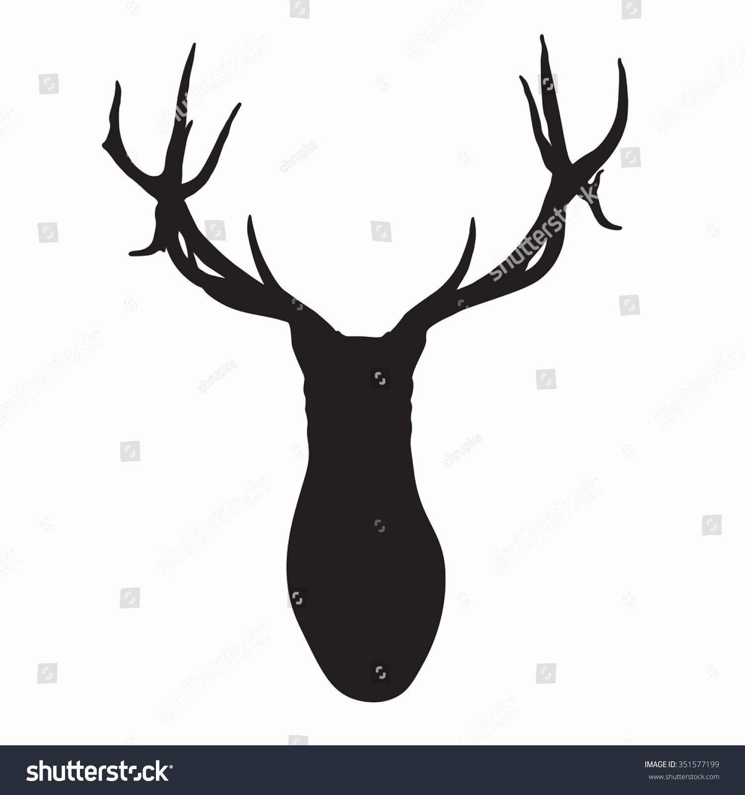 1500x1600 10 Luxury Deer Head Silhouette Stencil