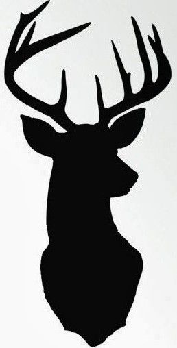 258x508 Deer Head Projects To Try Cricut, Silhouettes