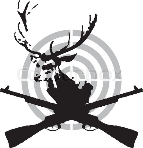 Deer Hunter Silhouette